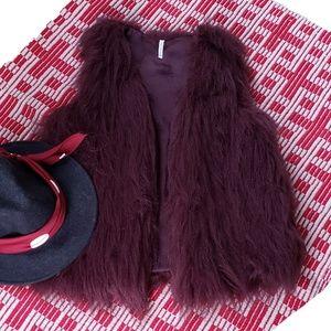Willow & Clay Faux Fur Vest